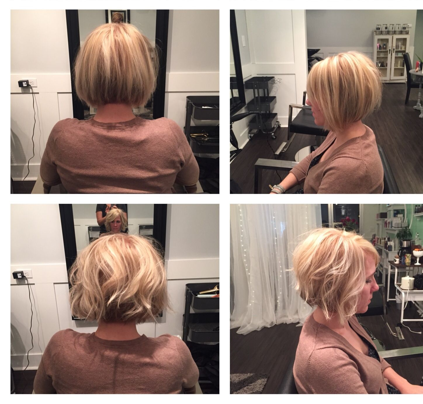 Blonde Bombshell Bob The French Twist Salon I Love This But I M Trying To Grow My Hair O French Twist Hair Formal Hairstyles For Long Hair Updated Hair Styles
