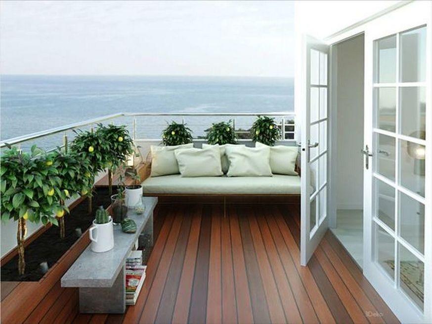 25 Cozy Second Floor Deck Design Ideas On A Budget Terrace Decor Balcony Decor Apartment Balcony Decorating