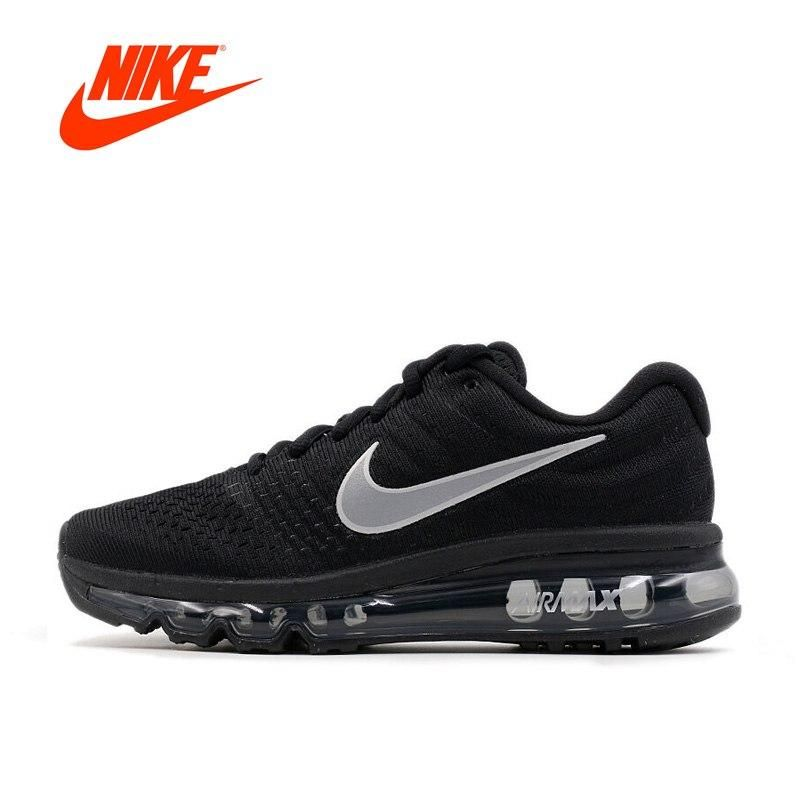 Nike Air Max 2017 Breathable Men's Running Shoes #sport