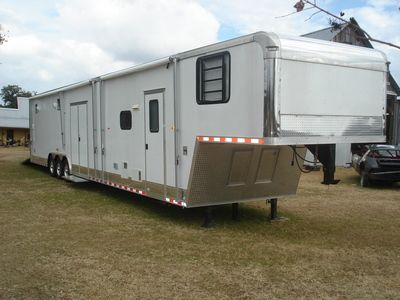 Racing Trailers Sale On 48 Race Car Trailer W Living Quarters For