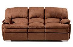 Emerald Enduro Suede Power Recline Sofa With Images Sofa