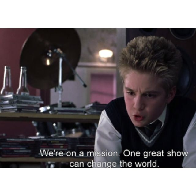 School Of Rock I Love This Quote Great Movies School Of Rock