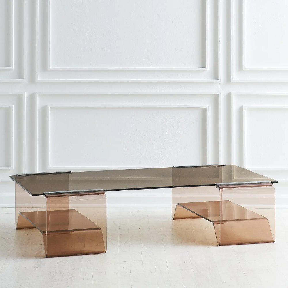 Michel Dumas Lucite Coffee Table With Smoked Glass Top In 2021 Lucite Coffee Tables Coffee Table Coffee Table Design [ 1000 x 1000 Pixel ]