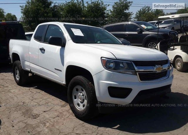 2015 Chevrolet Colorado For Sale At Salvage Trucks Auction