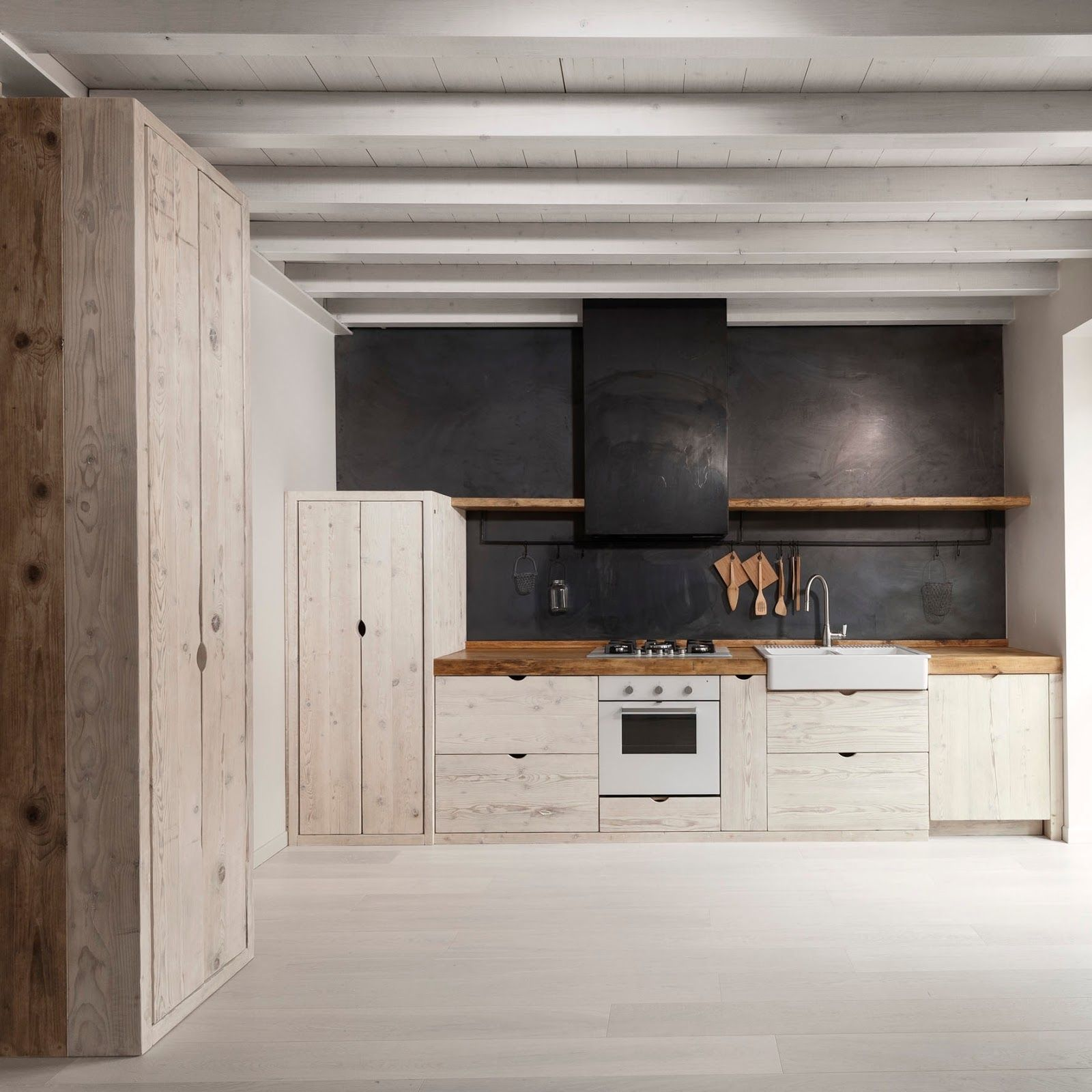 Inspiratie Voor De Keuken Kitchen Wohnung Kuche Haus Kuchen Und Kuche Beton