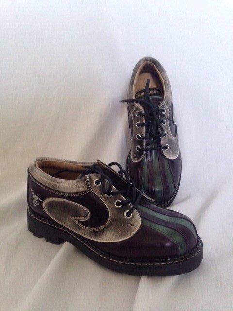 5d5ad29ae6fd7 Vintage John Fluevog Shoes   Angel   Swirl   Oxford   Gibson   Punk ...