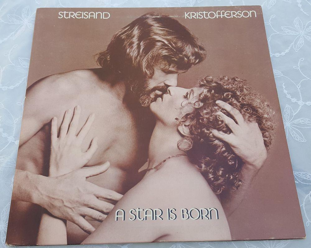 A Star Is Born Barbara Streisand Kris Kristofferson Lp Vinyl In