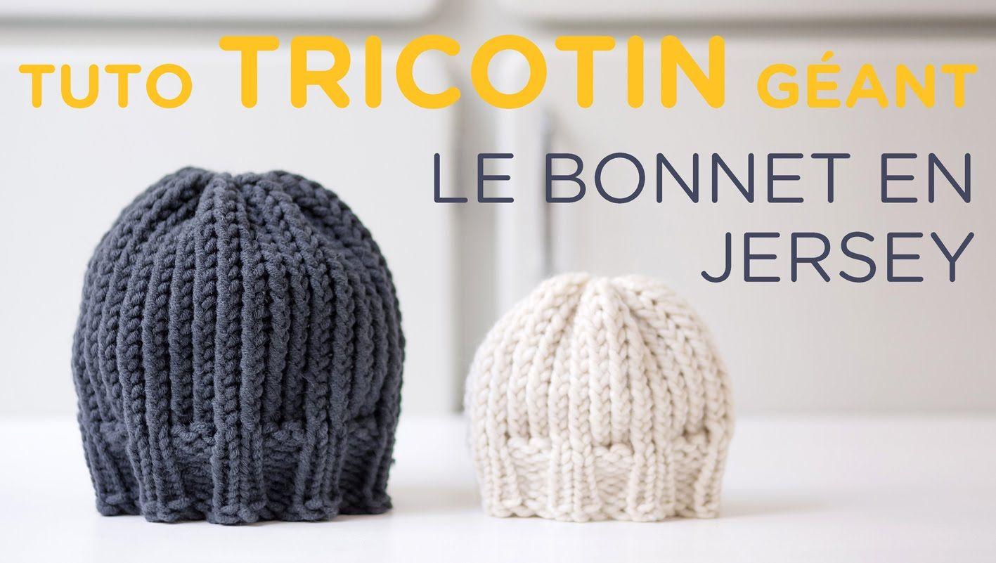 Un joli bonnet DIY au tricotin circulaire, à faire soi-même ou à ...