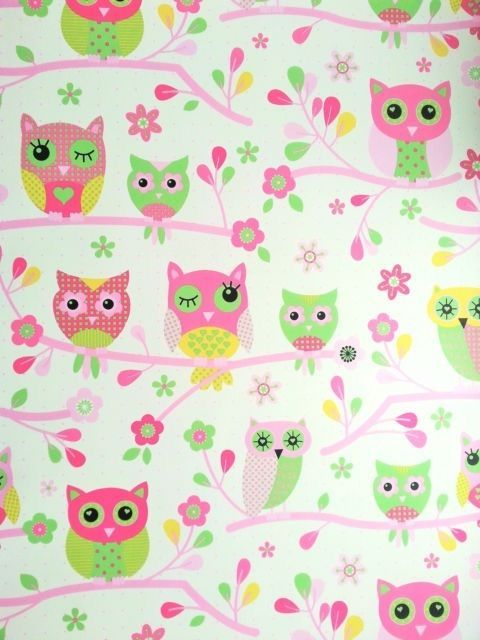 Pink owl wallpaper | Owl wallpaper, Pink owl and Owl