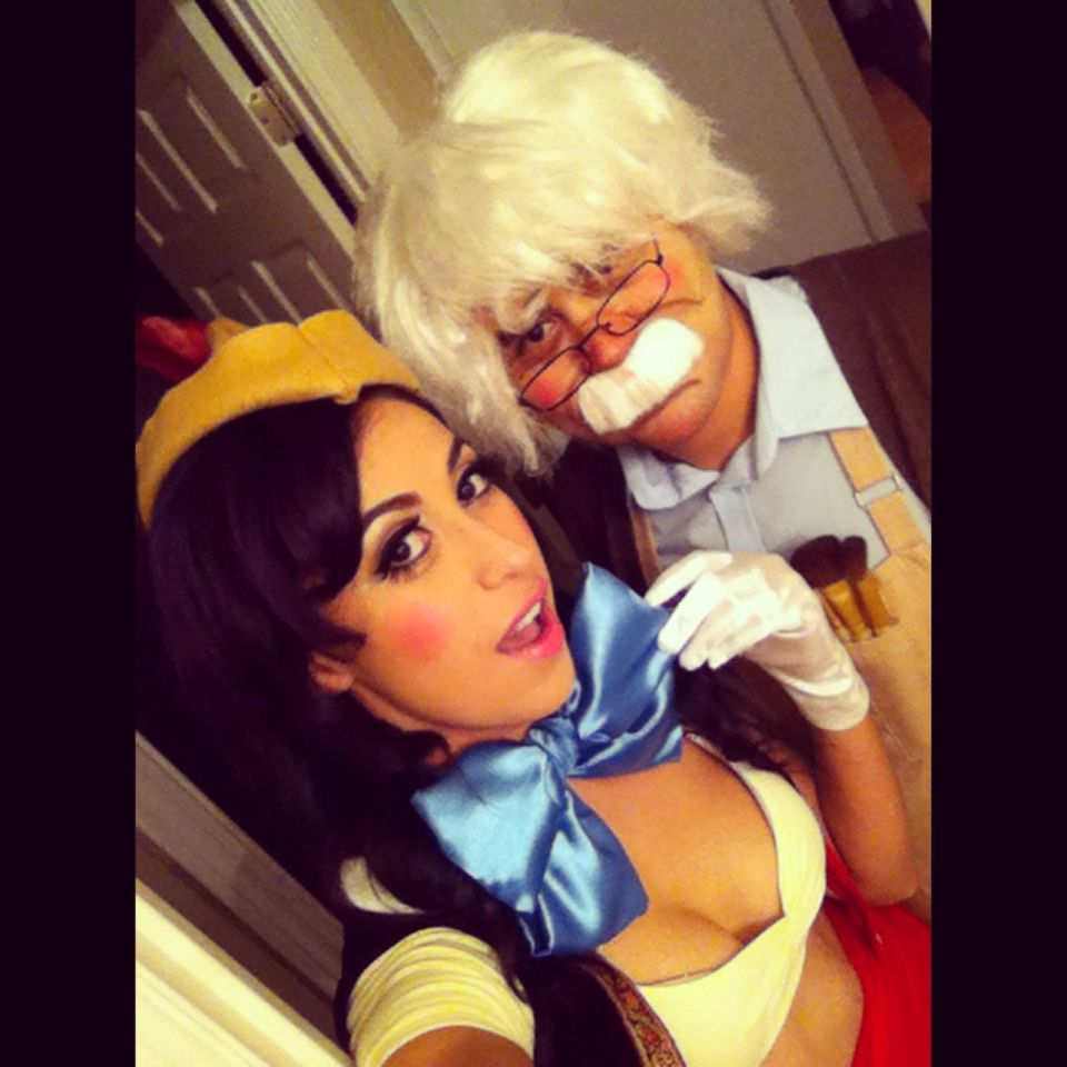 Pinocchio Geppetto Classic Disney