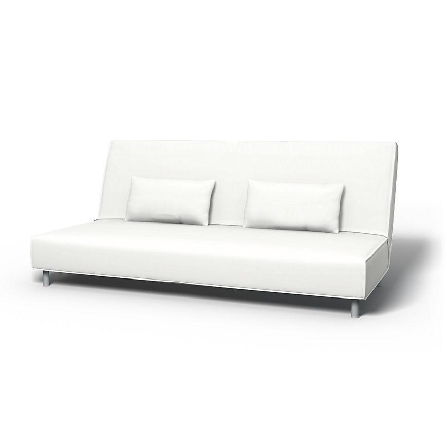 Beddinge Housses De Canape Convertible Regular Fit Utiliser Le Tissu Panama Cotton Absolute White Sofa Couch Furniture Ikea Bed