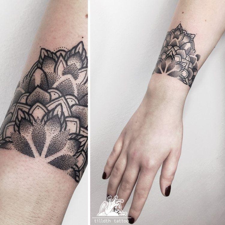 Tattoo Mandala Armband Tattoo Designs Ideas