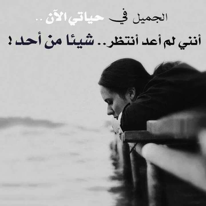 لم اعد انتظر أحد Funny Quotes Arabic Quotes Some Words