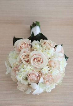 Light pink rose and white hydrangea wedding bouquet google search light pink rose and white hydrangea wedding bouquet google search mightylinksfo