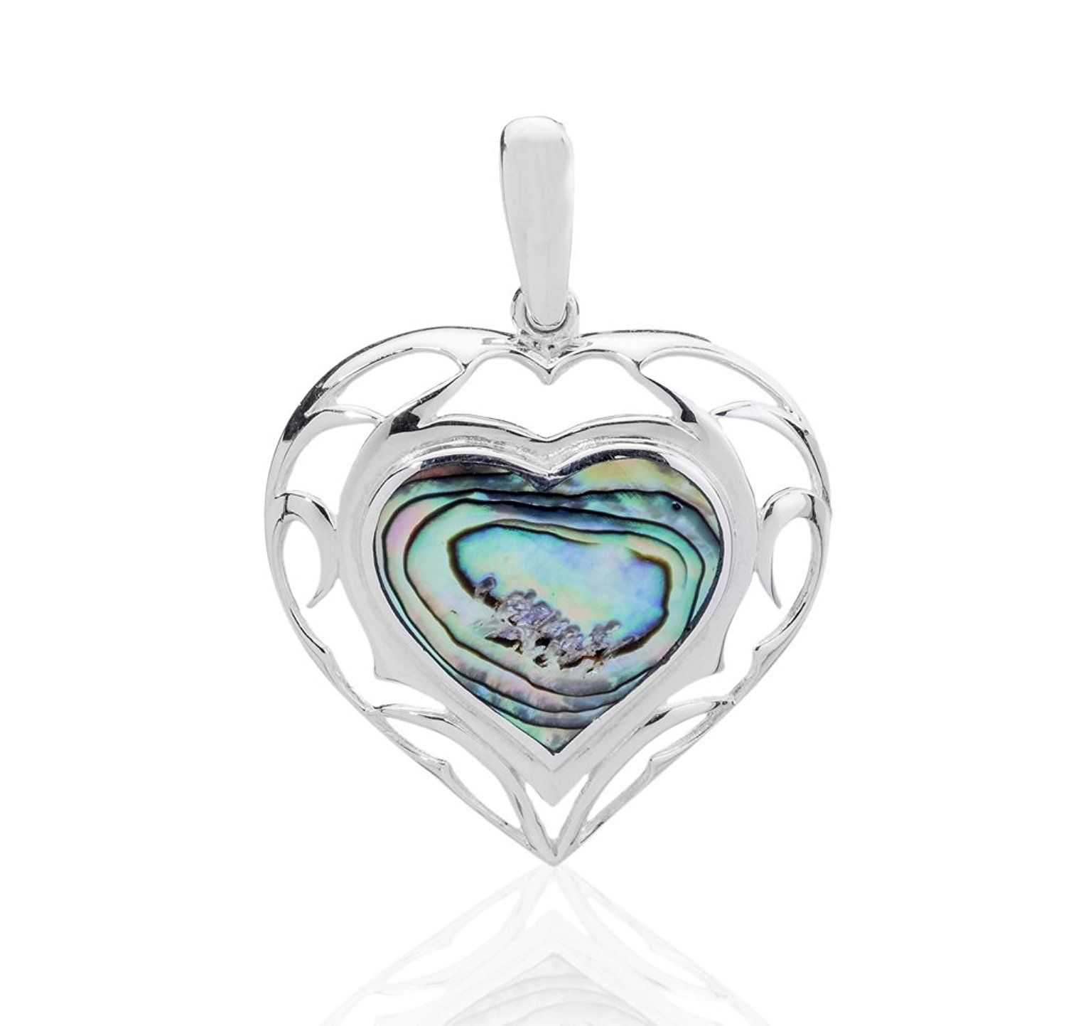 paua blue shell pendant necklaces pap wheeler