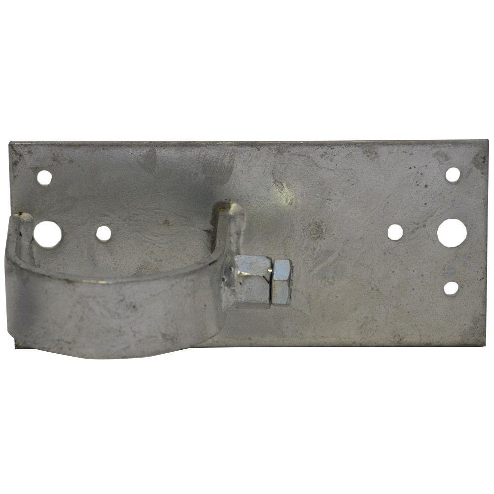 Wood To Round Steel Post Adaptors End Configuration Metal Fence Posts Fence Post Wood Fence Post