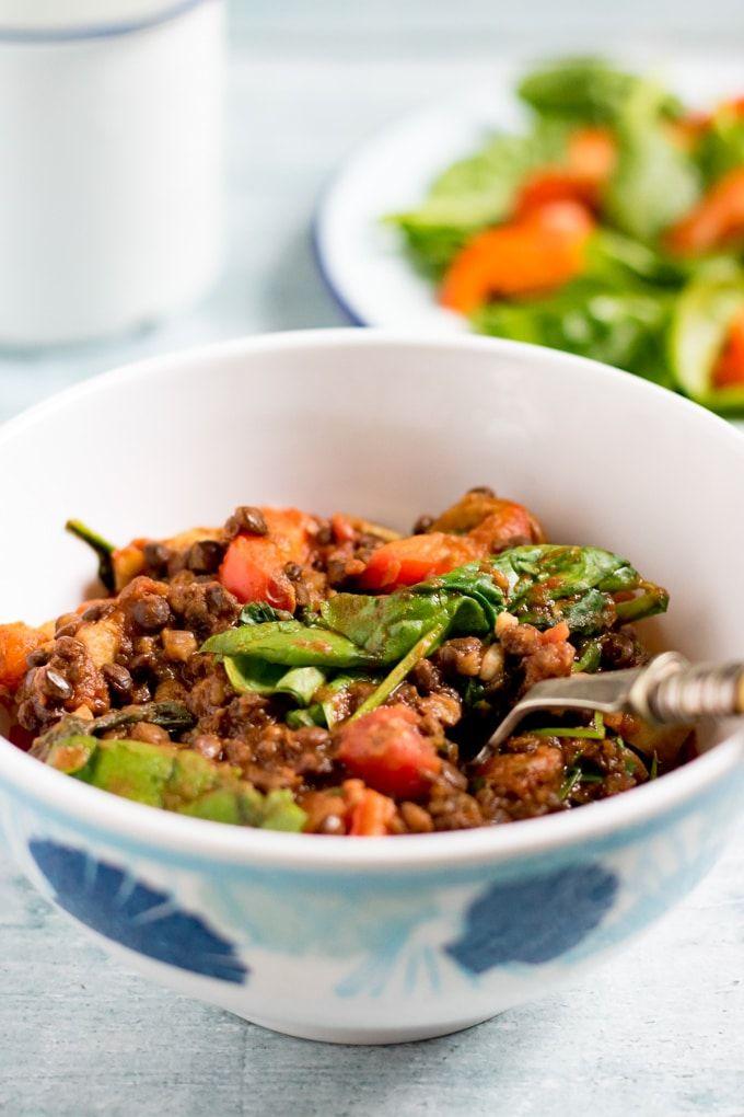 Lentil Tomato Stew