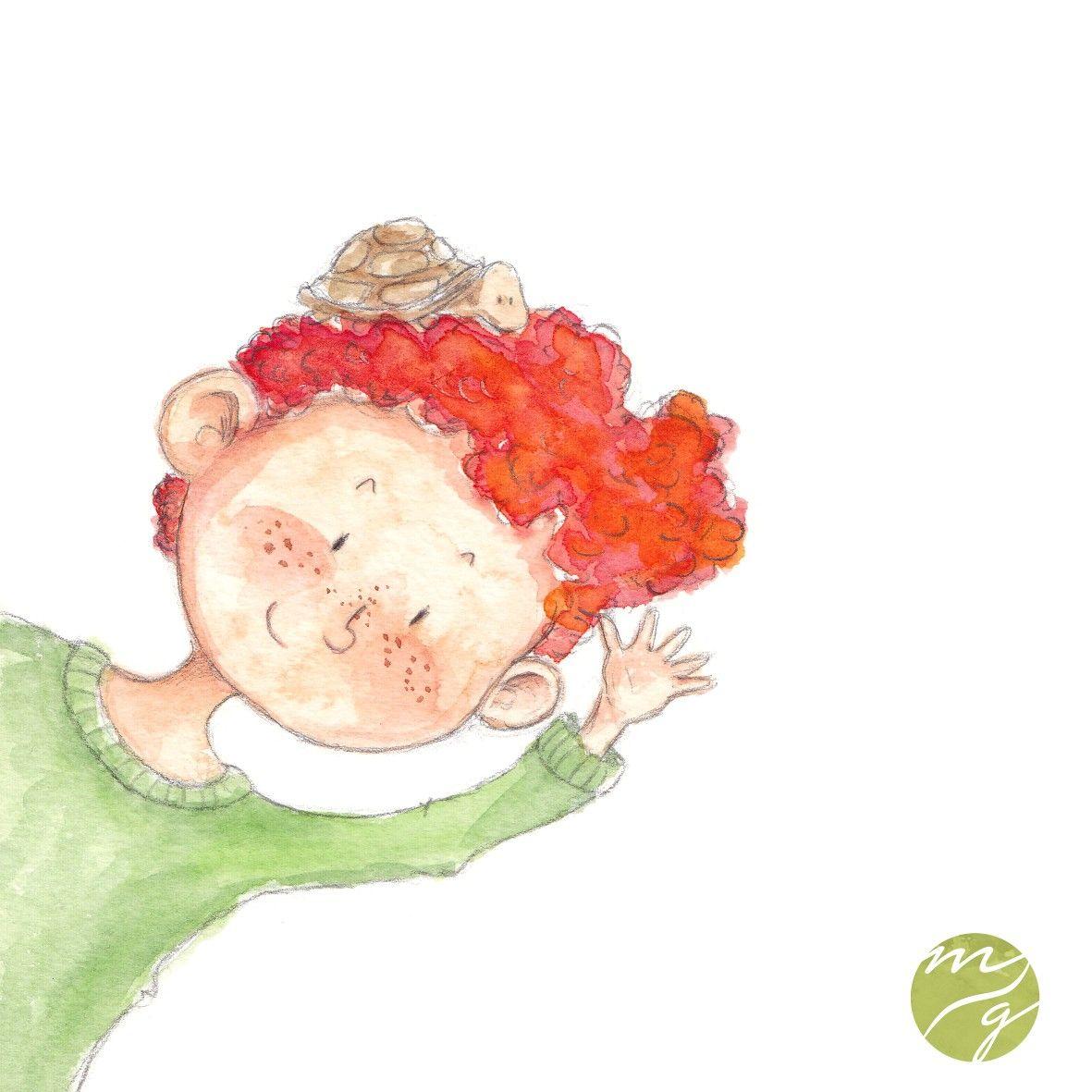 Anton Melanie Gurtler Illustration Aquarell Kinderbuch
