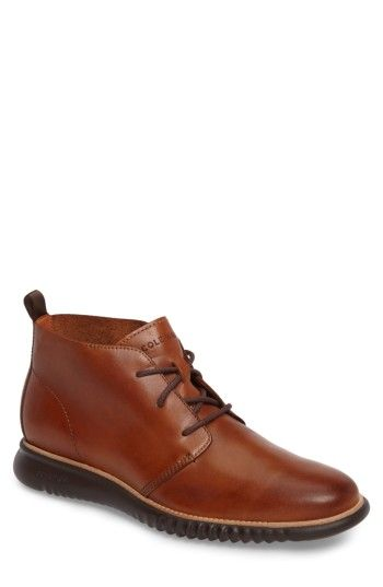 COLE HAAN MEN'S COLE HAAN 2.ZEROGRAND CHUKKA BOOT. #colehaan #shoes #