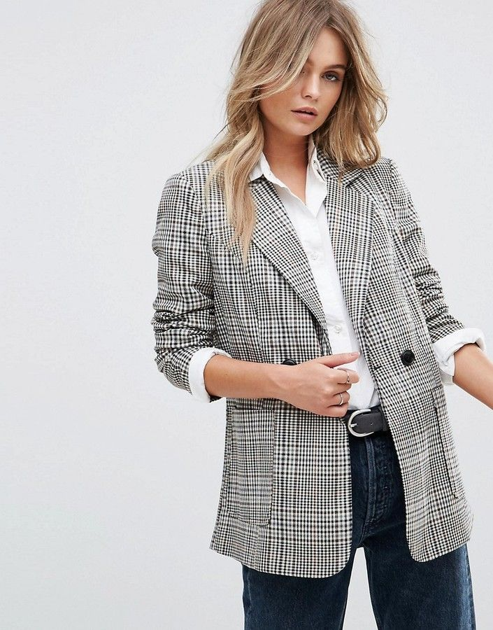 e356ed6b5656 Vero Moda Check Tailored Blazer blazer