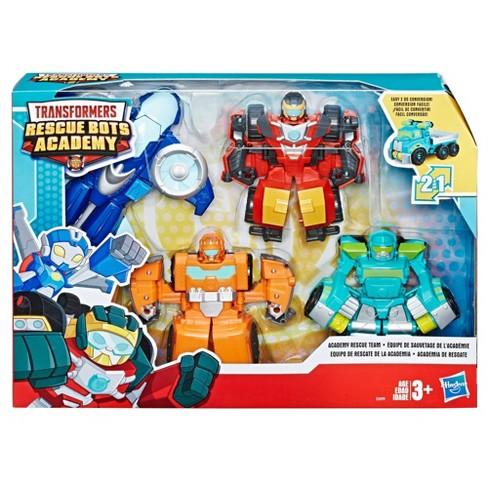 Transformers Rescue Bots Academy Rescue Team 4pk In 2020 Transformers Rescue Bots Rescue Bots Rescue Bots Birthday