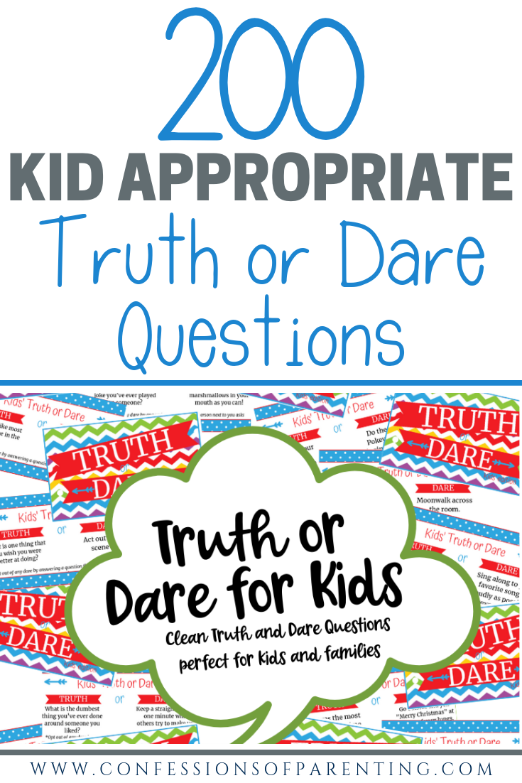 Truth dare printable questions or 140 Truth
