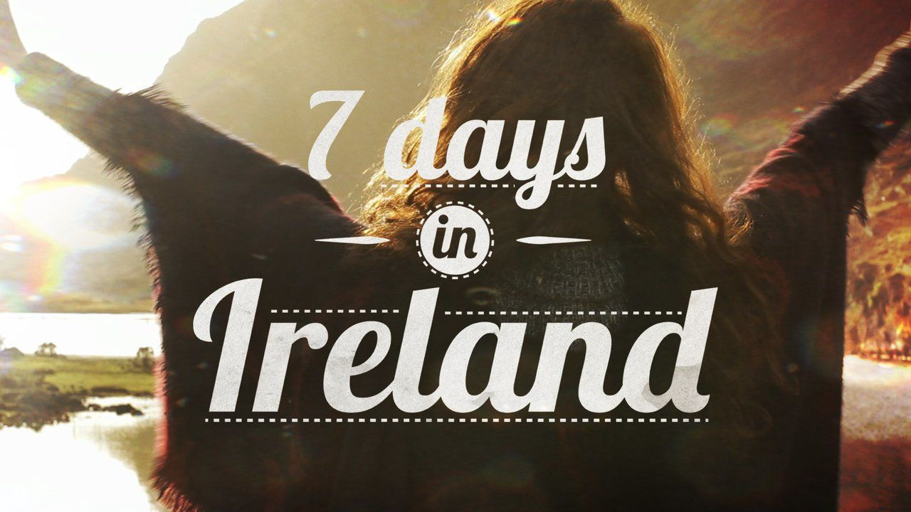 OMG! so amazing! captures the beauty and feeling of Ireland so gorgeously and perfectly! and they show Kells Priory, Co Kilkenny, where i've been! and i loved it! if you don't want to go to Ireland after seeing this, you need to check your pulse.   7 days in Ireland