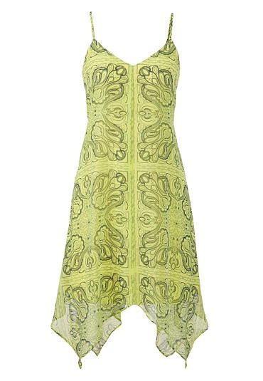 c834e96bf6a sprout green hanky hem summer dress in bandana print  maurices ...