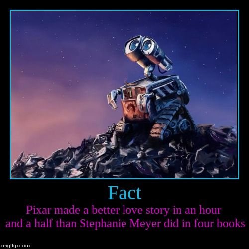 Image Result For Wall E Still A Better Love Story Than Twilight