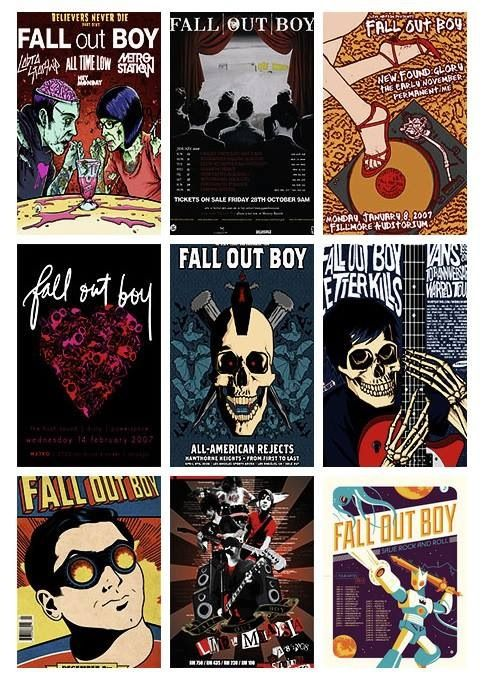 Fall Out Boy Comic Art Fall Out Boy Poster Fall Out Boy Save Rock And Roll