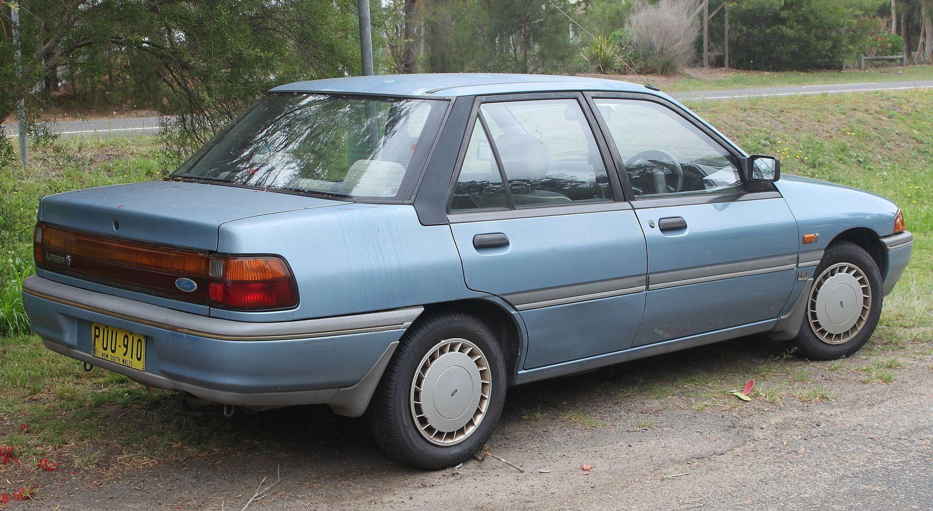 1990 Ford Laser Kf Ghia Sedan 22514037076 Ford Laser