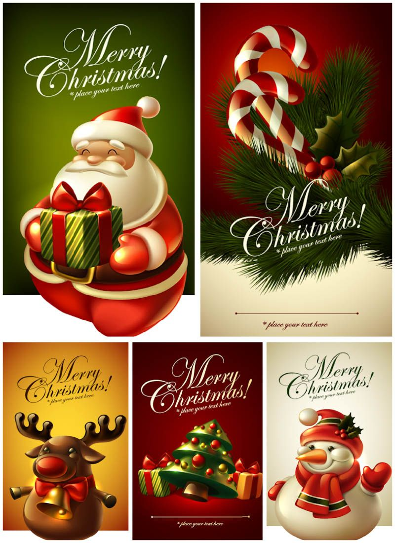 Christmas Greeting Card Templates Vector Christmas Card Templates Free Christmas Card Template Merry Christmas Card Greetings