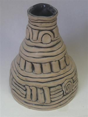 Cool ceramic ideas high school images for Cool pottery designs