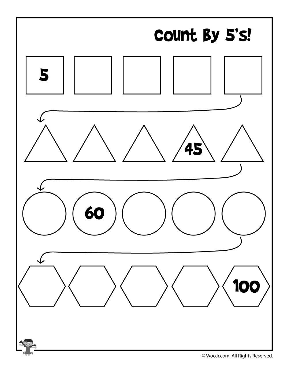 Pin By Irina Gaiduk On Math K In 2020 Skip Counting Worksheets Counting Worksheets Kindergarten Worksheets Printable