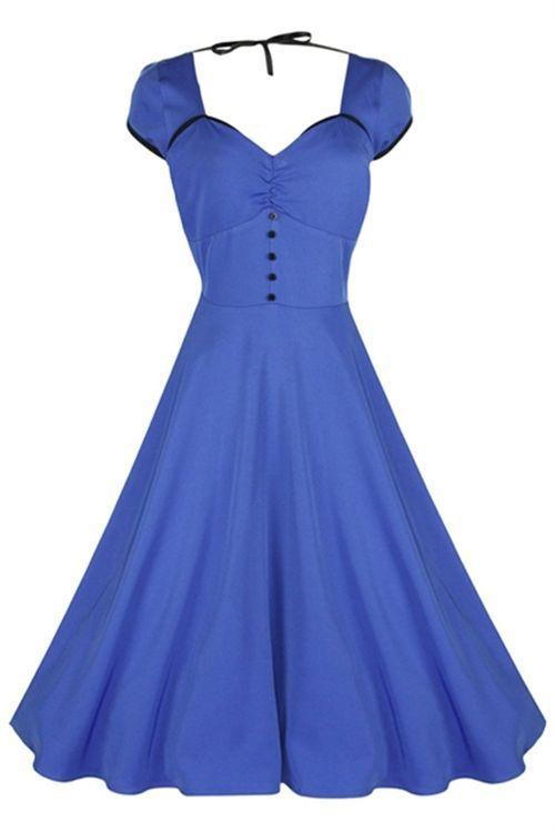 e260cc4c5bb Details about Lindy Bop Classy Vintage Audrey Hepburn 1950 s ...
