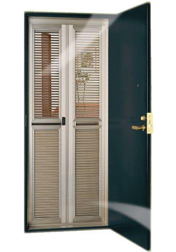 マンション用玄関網戸ルーバー通風ドアのナイスウインズドア通販 Eco