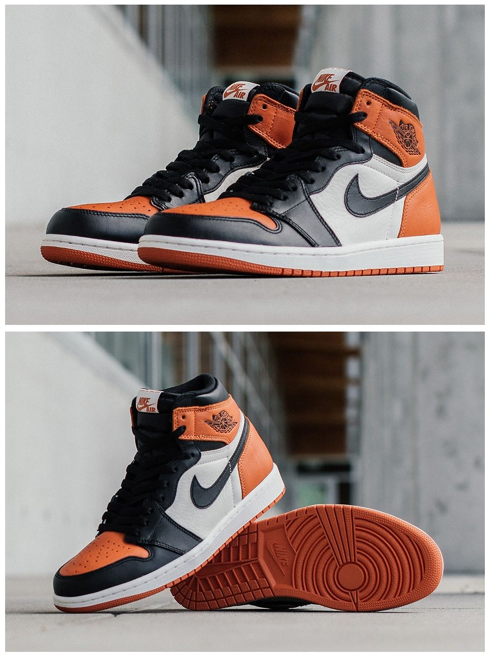 "Air Jordan 1 Retro High OG ""Shattered Backboard"
