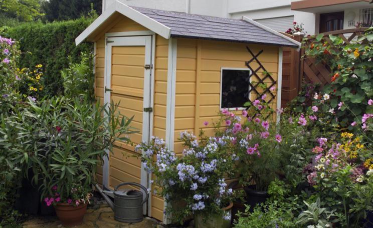 Ihr Recht im Garten Baugenehmigung fürs Gartenhäuschen