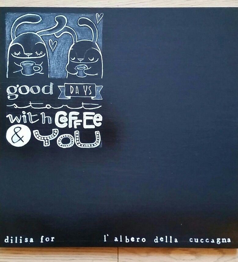 DILISA's blackboard.