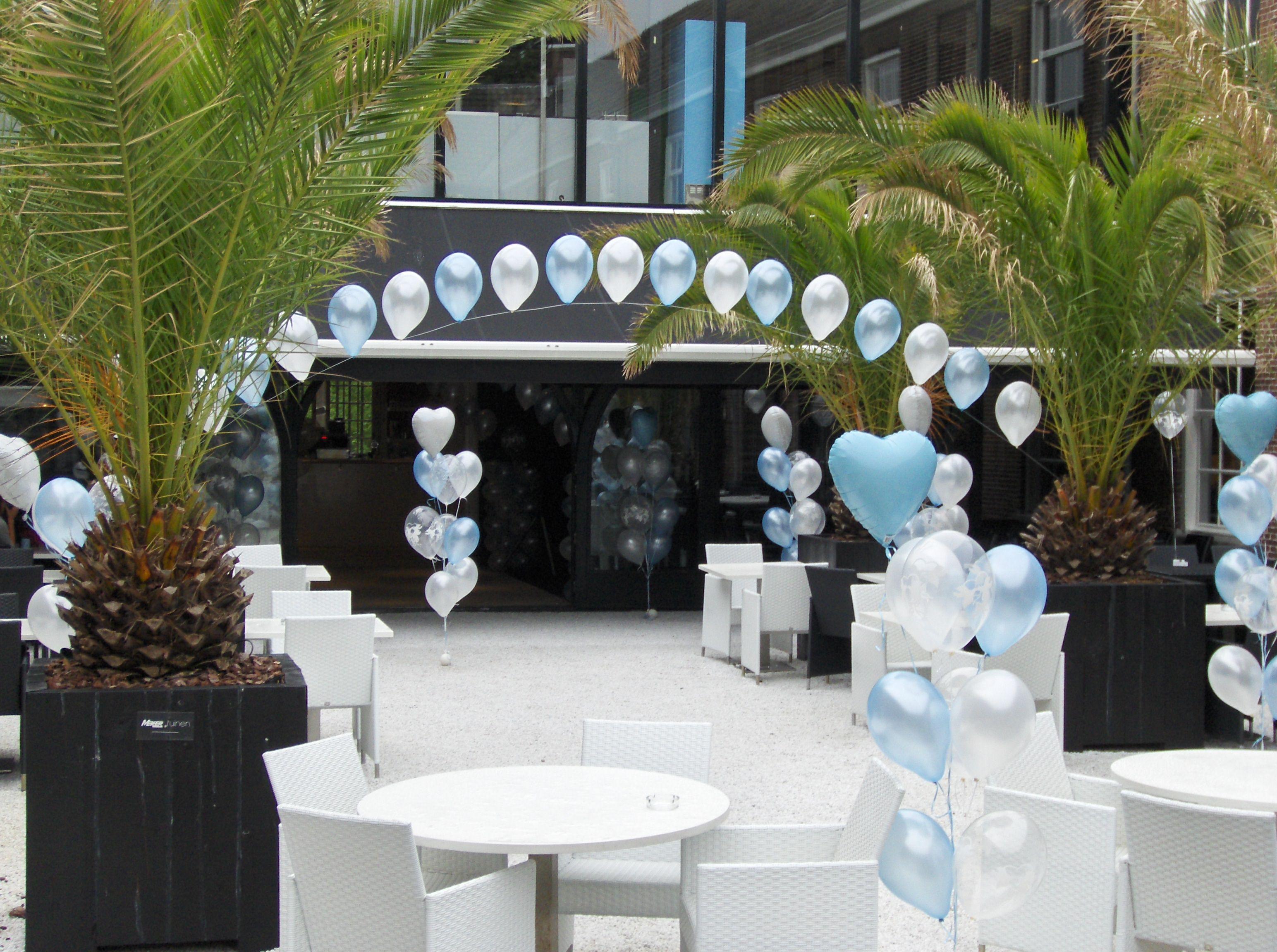 Trosjes Heliumballonnen En Ballonsliert Ballondecoraties Ballonnen Huwelijk