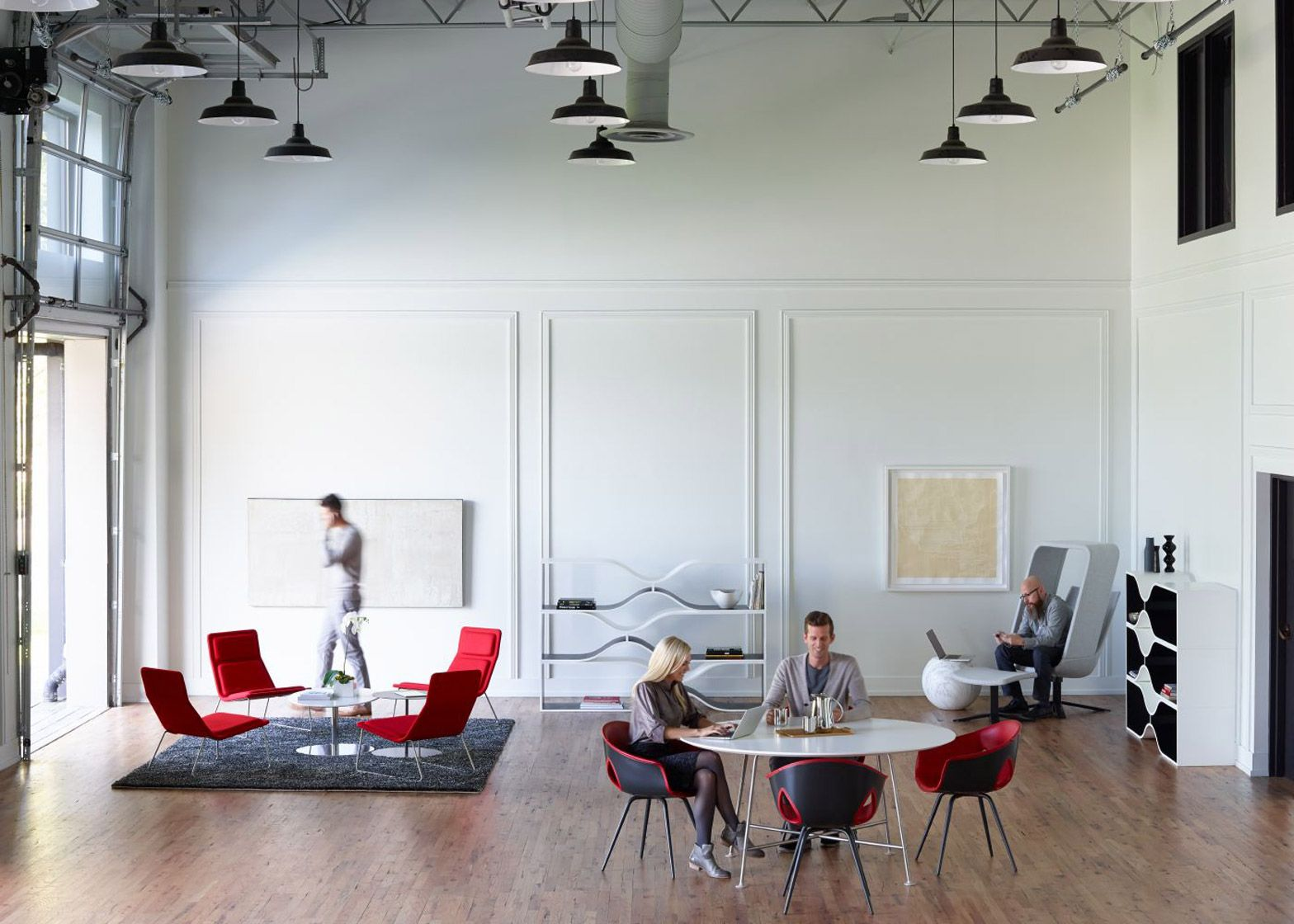 "Furniture Design Companies you need to design offices for next generation"" says haworth"