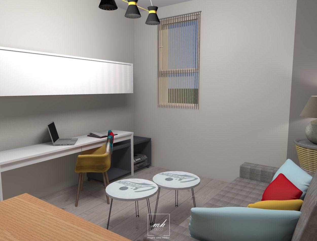 Agencer et aménager une pièce avec plusieurs fonctionnalités ...