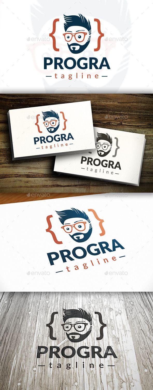 Programer Logo — Vector EPS gaming javascript