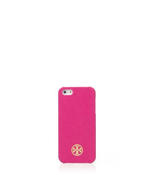 Tory Burch Pink Robinson Hardshell iPhone 5 case
