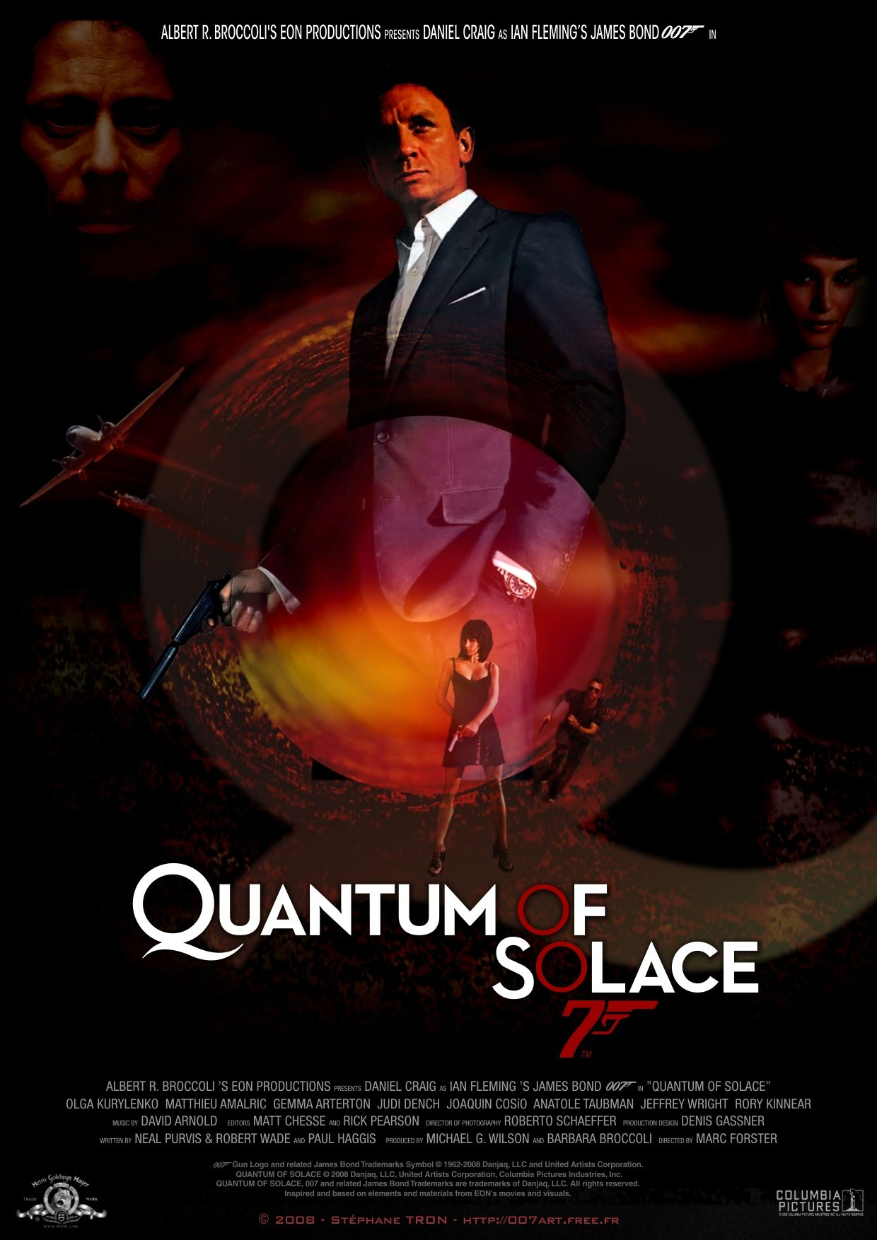 Quantum Of Solace Movie Poster 17 Bond Movies 007 James Bond