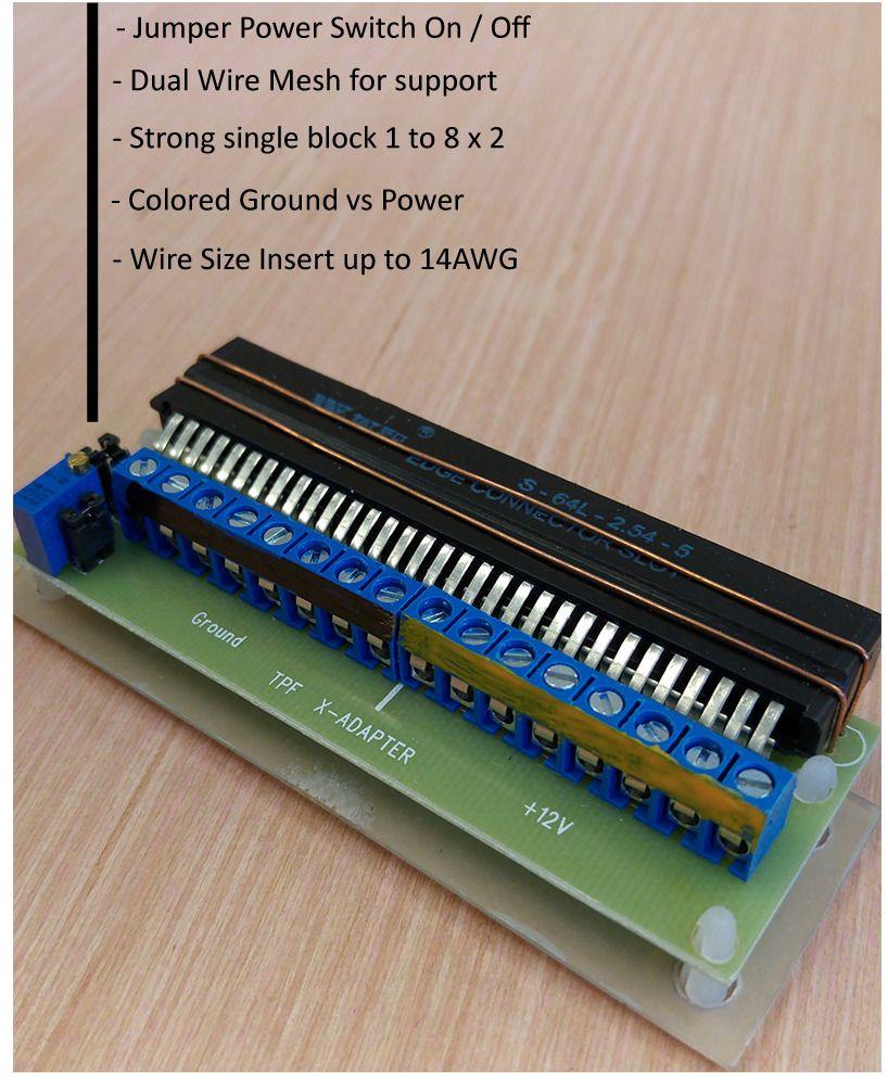 """Breakout Board Adapter uses HP ProLiant DPS-800GB """"800 to 1000Watt"""