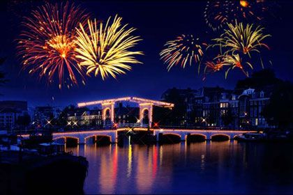 New Year In Amsterdam Happy New Year Wallpaper New Year Images New Year Fireworks
