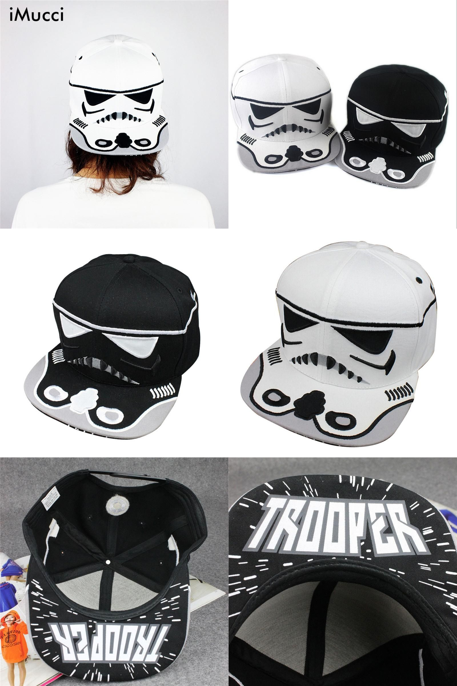 Visit to Buy  iMucci 2017 Fashion Cotton Brand Star Wars Snapback Caps  Cool Strapback be99f0e77be9