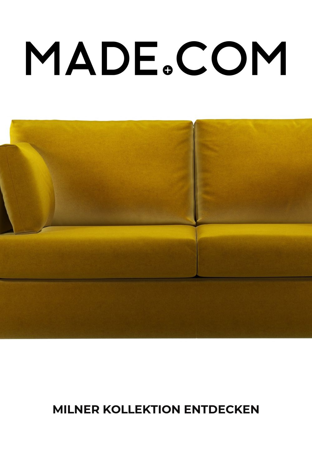 Made Schlafsofa Gelb In 2020 Sofa Couch Furniture