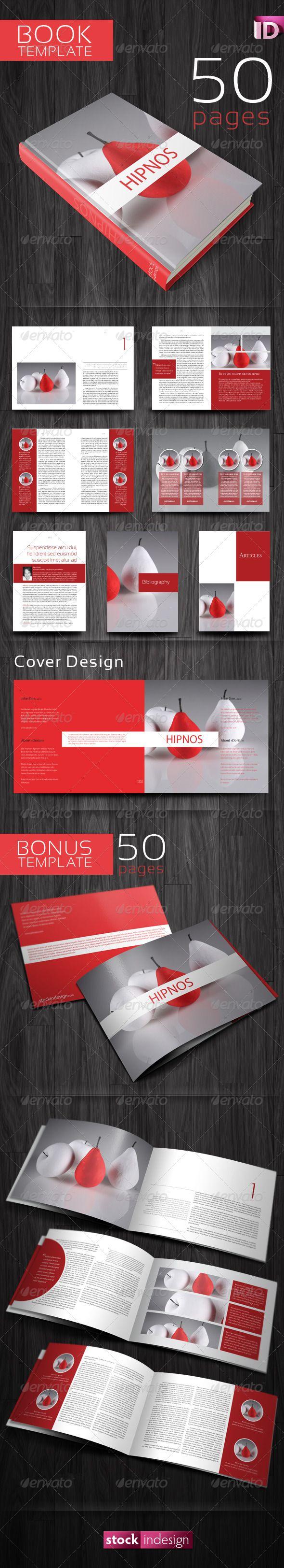 Book Template: Hipnos   Diseño editorial, Editorial y Portafolio
